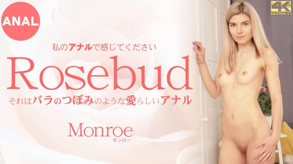 Kin8tengoku 金8天国 3433 それはバラのつぼみのような愛らしいアナル 私のアナルで感じてください Rosebud Monroe / モンロー