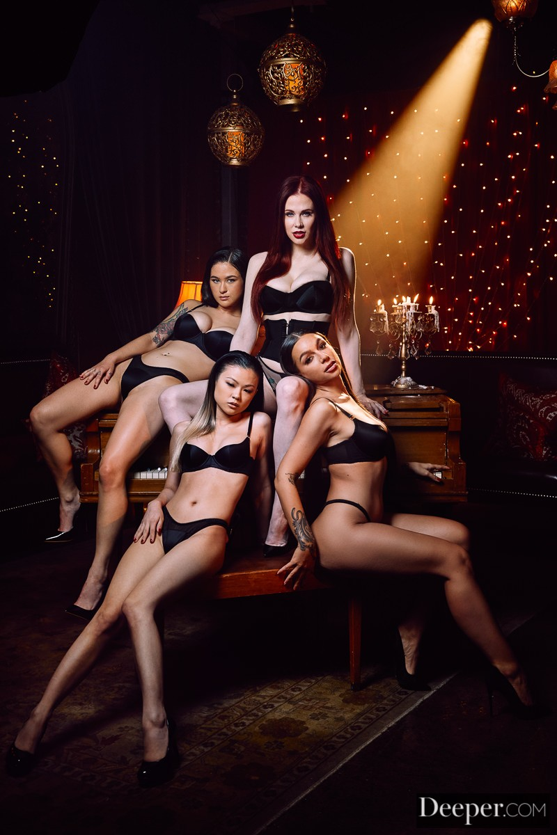 Deeper - Maitland Ward, Lulu Chu, April Olsen, Jasmine Wilde Mistress Maitland 2: Teeth